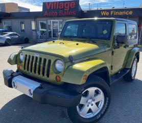 Used 2010 Jeep Wrangler Sahara 4X4, FOG LIGHTS, REMOVABLE HARD TOP, BLUETOOTH, CRUISE CONTROL, V6 for sale in Saskatoon, SK