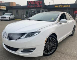 Used 2014 Lincoln MKZ AWD, 11-SPEAKER SOUND SYSTEM, REARVIEW CAMERA, SATELLITE RADIO, 8-INCH TOUCHSCREEN, LEATHER UPHOLSTE for sale in Saskatoon, SK
