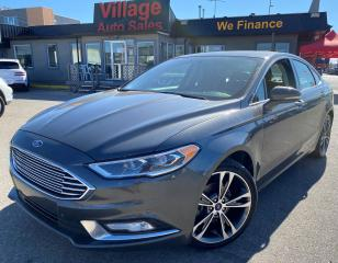 Used 2017 Ford Fusion Titanium SUNROOF, BACKUP CAMERA, BLUETOOTH, AWD, NAVIGATION, LEATHER INTERIOR, HEATED SEATS, VENTILATED SEATS for sale in Saskatoon, SK