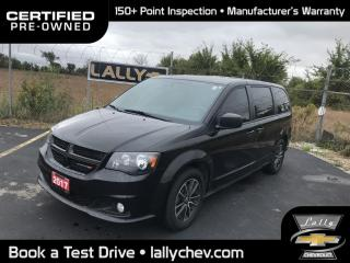 Used 2017 Dodge Grand Caravan CVP/SXT SXT**STOW N GO**LOCAL TRADE**ONE OWNER** for sale in Tilbury, ON