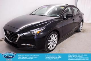 Used 2017 Mazda MAZDA3 4-Door Grand Touring for sale in Church Point, NS