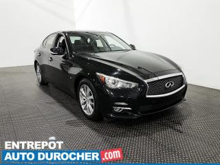 Used 2014 Infiniti Q50 Cuir- Toit ouvrant- Sièges chauffants- Climatiseur for sale in Laval, QC