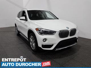 Used 2018 BMW X1 XDrive28i AWD Cuir- Toit panoramique - Navigation for sale in Laval, QC