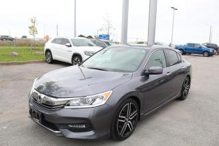 Used 2017 Honda Accord Sedan 2.4L Sport for sale in Whitby, ON