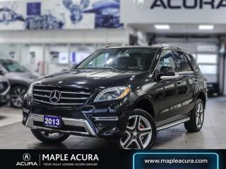 Used 2013 Mercedes-Benz ML-Class ML 350 BlueTEC 4MATIC for sale in Maple, ON