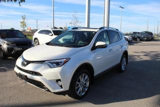 Used 2018 Toyota RAV4 2.5L AWD Limited for sale in Whitby, ON