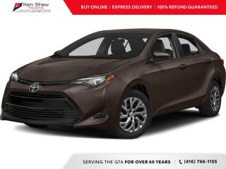 Used 2017 Toyota Corolla for sale in Toronto, ON