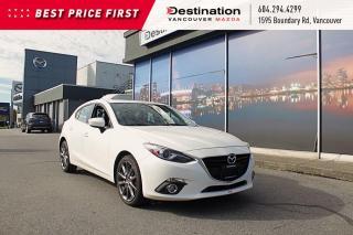 Used 2014 Mazda MAZDA3 GT-SKY - W/ Dashcam! Fully Loaded! for sale in Vancouver, BC