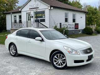 Used 2008 Infiniti G35 MINT Navi Backup Cam BOSE Audio AWD Leather Sunroof MINT for sale in Sutton, ON