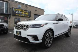 Used 2018 Land Rover Range Rover Velar P380 HSE R-DYNAMIC/DRIVER ASSIST PACKAWD/ MASSAGE/ NAV/AWD for sale in Newmarket, ON