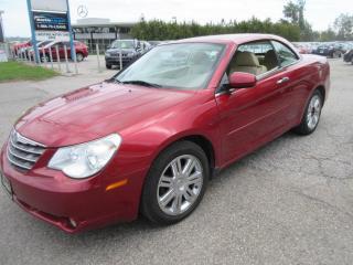 Used 2008 Chrysler Sebring LTD /ACCIDENT FREE for sale in Newmarket, ON