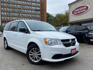 Used 2016 Dodge Grand Caravan SXT PKG | CAM | FACT DVD | 7 PASS | STOW N GO | for sale in Scarborough, ON