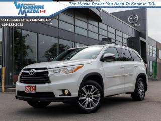 Used 2016 Toyota Highlander XLE  - Navigation -  Sunroof for sale in Toronto, ON