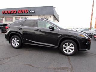 Used 2016 Lexus RX 350 AWD Luxury 3.5L Camera No Accident Sunroof Certified for sale in Milton, ON