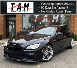 Used 2016 BMW 6 Series Gran Coupe 640i xDrive M-Sport Heads Up Fully Loaded for sale in North York, ON