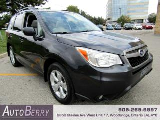 Used 2014 Subaru Forester 2.5i Limited Accident Free, One Owner!!! for sale in Woodbridge, ON