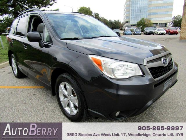 2014 Subaru Forester 2.5i Limited Accident Free, One Owner!!!