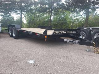 Used 2022 Triumph TA82X16 2-52 PAINTED STEEL CAR HAULER 5 Ton for sale in Kitchener, ON