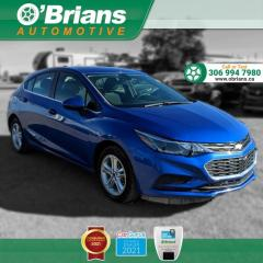 Used 2018 Chevrolet Cruze LT w/Command Start, Backup Camera, Heated Seats, Cruise Control for sale in Saskatoon, SK