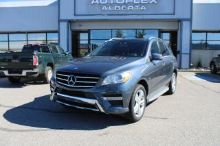 Used 2012 Mercedes-Benz ML-Class ML350 BlueTEC for sale in Calgary, AB