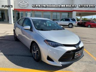 Used 2017 Toyota Corolla LE Upgrade Package  - Heated Seats for sale in Steinbach, MB