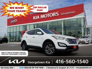 Used 2015 Hyundai Santa Fe Sport LUXURY | CLN CRFX | PANO ROOF | BU CAM | HTD SEATS for sale in Georgetown, ON