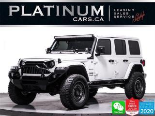Used 2019 Jeep Wrangler Unlimited Sahara, AWD, HEATED, NAV, BORLA EXHAUST for sale in Toronto, ON