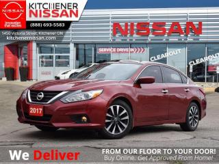 Used 2017 Nissan Altima 2.5 SV  - Navigation -  Sunroof - $108 B/W for sale in Kitchener, ON