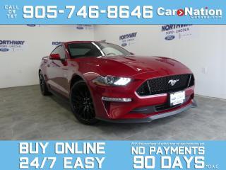 Used 2021 Ford Mustang GT PREMIUM | PERFORMANCE PKG | SAFE & SMART PKG for sale in Brantford, ON