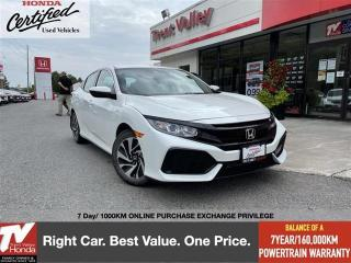 Used 2018 Honda Civic Hatchback LX for sale in Peterborough, ON