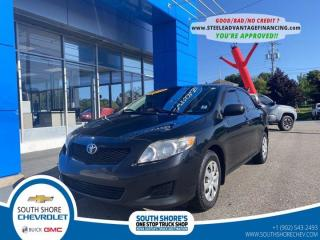 Used 2010 Toyota Corolla CE for sale in Bridgewater, NS