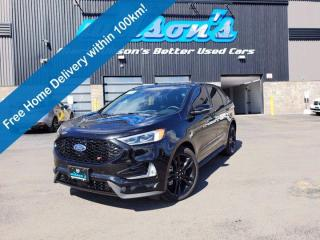 Used 2021 Ford Edge ST AWD, 2.7 Ecoboost V6, Leather, 12