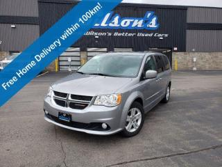 Used 2016 Dodge Grand Caravan Crew Plus, Dual DVD, Navigation, Reverse Camera, Leather, Bluetooth, Tow Hitch & Much More! for sale in Guelph, ON