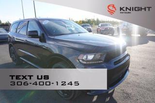 Used 2020 Dodge Durango GT Sport Blacktop | B/U Camera | Remote Start | Heated Seats / Wheel for sale in Weyburn, SK