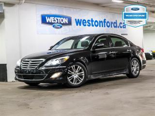 Used 2013 Hyundai Genesis 3.8+NAVIGATOIN+CAMERA+PUSH START+SUNROOF for sale in Toronto, ON