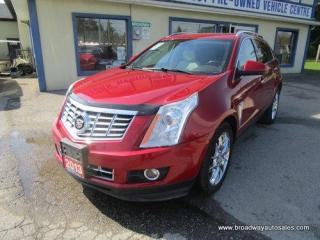 Used 2013 Cadillac SRX ALL-WHEEL DRIVE PREMIUM EDITION 5 PASSENGER 3.6L - V6.. NAVIGATION.. LEATHER.. HEATED/AC SEATS.. BACK-UP CAMERA.. BLUETOOTH SYSTEM.. PANORAMIC ROOF.. for sale in Bradford, ON