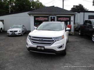 Used 2018 Ford Edge ALL-WHEEL DRIVE SEL-EDITION 5 PASSENGER 3.5L - V6.. NAVIGATION.. LEATHER.. HEATED SEATS.. BACK-UP CAMERA.. PANORAMIC SUNROOF.. BLUETOOTH SYSTEM.. for sale in Bradford, ON