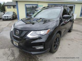 Used 2018 Nissan Rogue ALL-WHEEL DRIVE SV-MIDNIGHT-EDITION 5 PASSENGER 2.5L - DOHC.. NAVIGATION.. HEATED SEATS & WHEEL.. BACK-UP CAMERA.. PANORAMIC SUNROOF.. BLUETOOTH.. for sale in Bradford, ON