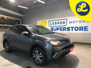 Used 2016 Toyota RAV4 LE * Cruise Control * Steering Wheel Controls * Hands Free Calling * 17 Alloy Rims * Automatic/Manual Mode * 12V DC Outlet * AM/FM/CD/USB/Aux * Keyle for sale in Cambridge, ON