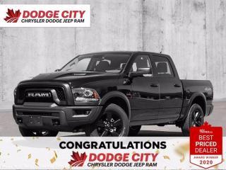 New 2021 RAM 1500 Classic Warlock-4WD,V8,Heated Seats/Wheel,Remote Start for sale in Saskatoon, SK
