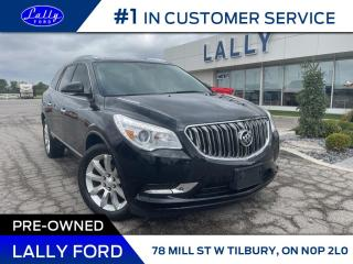 Used 2015 Buick Enclave Premium, AWD,Roof, Nav Rear DVD! for sale in Tilbury, ON