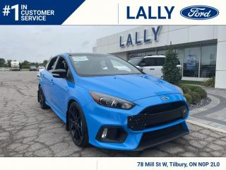 Used 2018 Ford Focus RS RS, One Owner, Local Trade, Only11,625 km's! for sale in Tilbury, ON