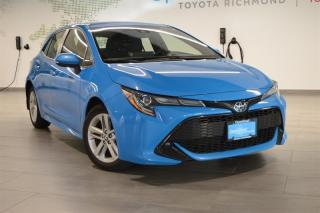 Used 2019 Toyota Corolla Hatchback Hatchback CVT for sale in Richmond, BC