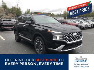 New 2022 Hyundai Santa Fe HEV Luxury for sale in Sudbury, ON