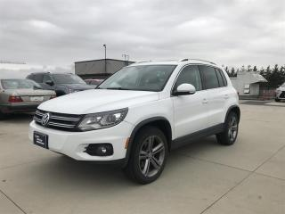 Used 2017 Volkswagen Tiguan Highline 2.0T 6sp at w/ Tip 4M for sale in Richmond, BC
