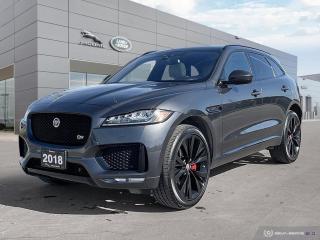 Used 2018 Jaguar F-PACE S * October Special Offer * for sale in Winnipeg, MB