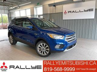 Used 2017 Ford Escape Titanium 4WD ECOBOOST W/NAV for sale in Ottawa, ON