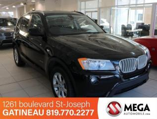 Used 2013 BMW X3 28I  AWD for sale in Ottawa, ON