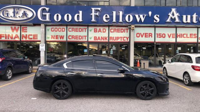 2012 Nissan Maxima SV MODEL, REARVIEW CAMERA, SUNROOF, LEATHER SEATS Photo2
