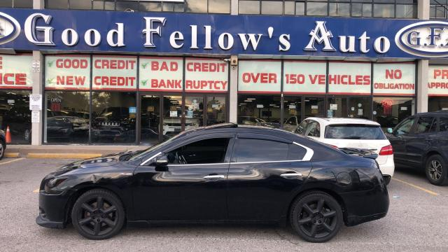 2012 Nissan Maxima SV MODEL, REARVIEW CAMERA, SUNROOF, LEATHER SEATS Photo3
